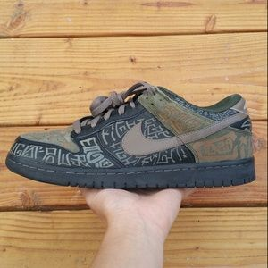 2013 Nike Dunk Low Premium DB Doernbecher Sneakers